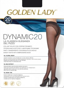 "Rajstopy GOLDEN LADY Lycra 20 den ""DYNAMIC"""