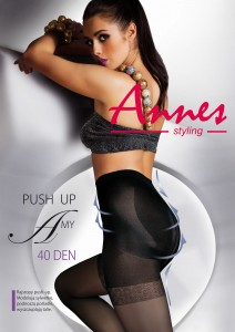 Rajstopy ANNES PUSH UP AMY 40 Den