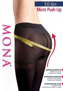 Rajstopy MONA Micro Push-Up 50 den